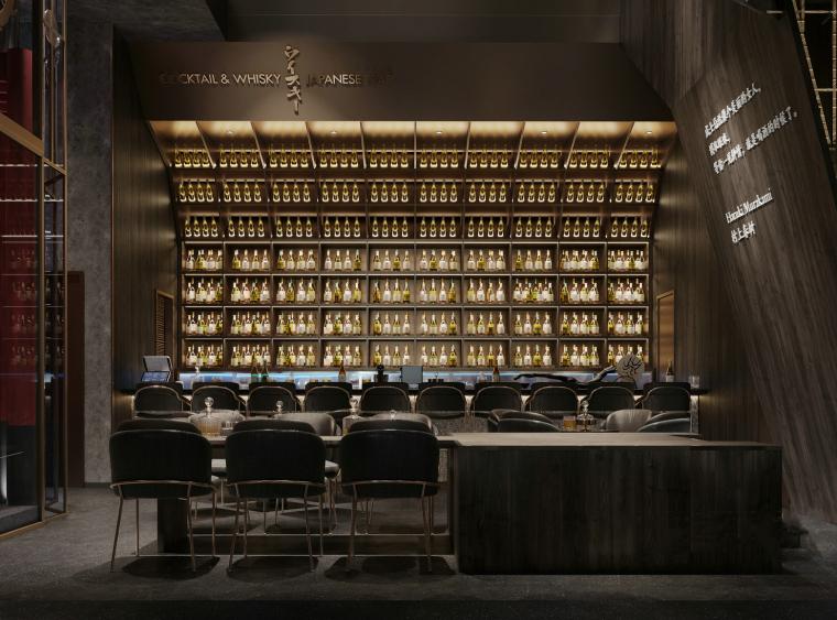 现代音乐酒吧清吧餐厅3d模型+效果图_1