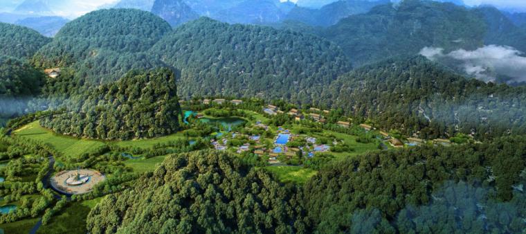 [广西]平果布镜湖国际乡村度假区总体规划_4