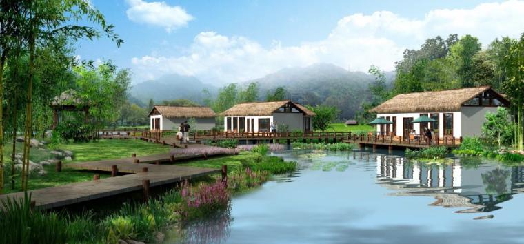 [广西]平果布镜湖国际乡村度假区总体规划_2