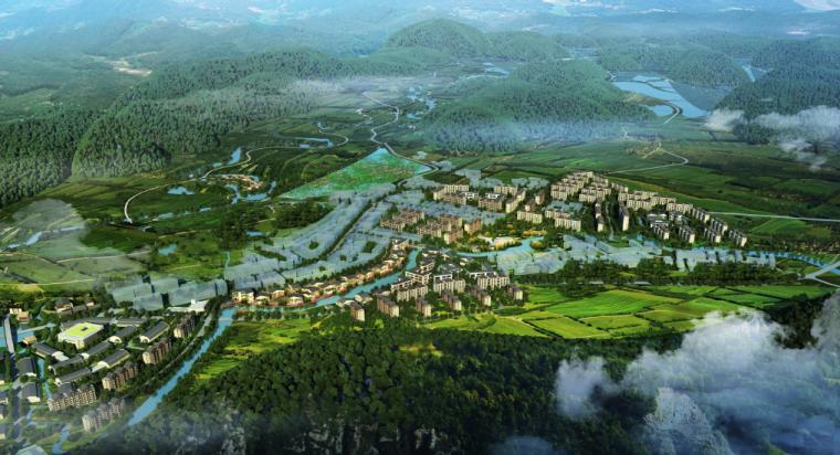 [广西]平果布镜湖国际乡村度假区总体规划_1