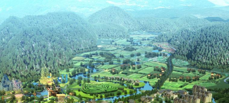 [广西]平果布镜湖国际乡村度假区总体规划_8