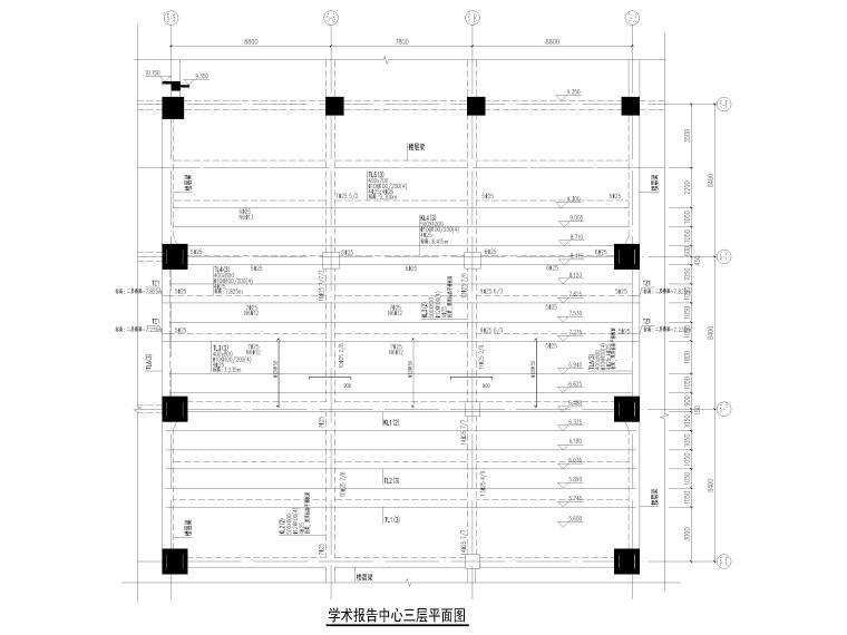 [深圳]21层框剪结构行政后勤楼结施图2019_5