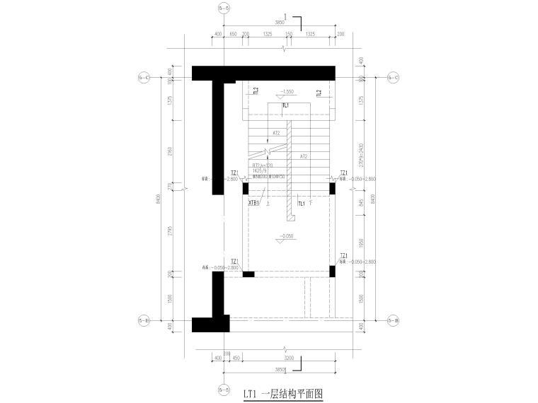 [深圳]21层框剪结构行政后勤楼结施图2019_8