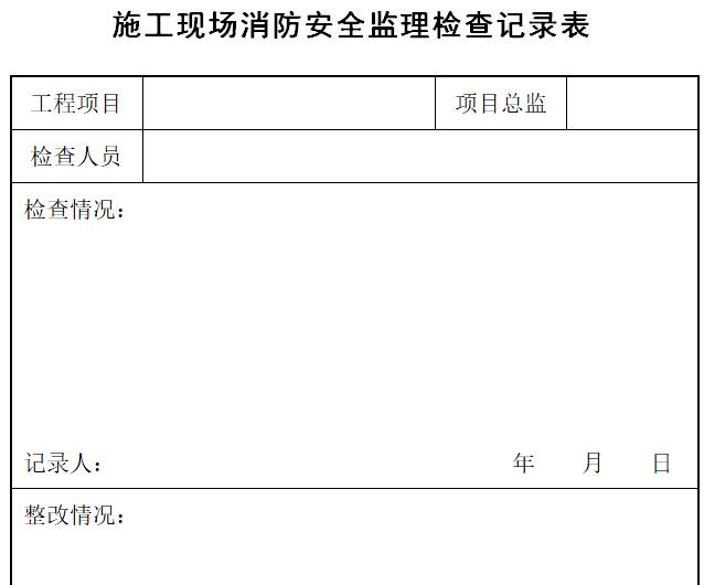 建筑工程安全监理技术资料台帐_3