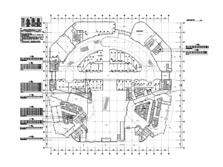 [江苏]45.8万平商业广场电气施工图_1