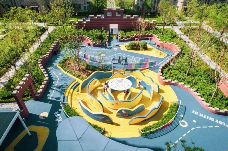 大区里的儿童乐园,谁不想穿越回童年_17