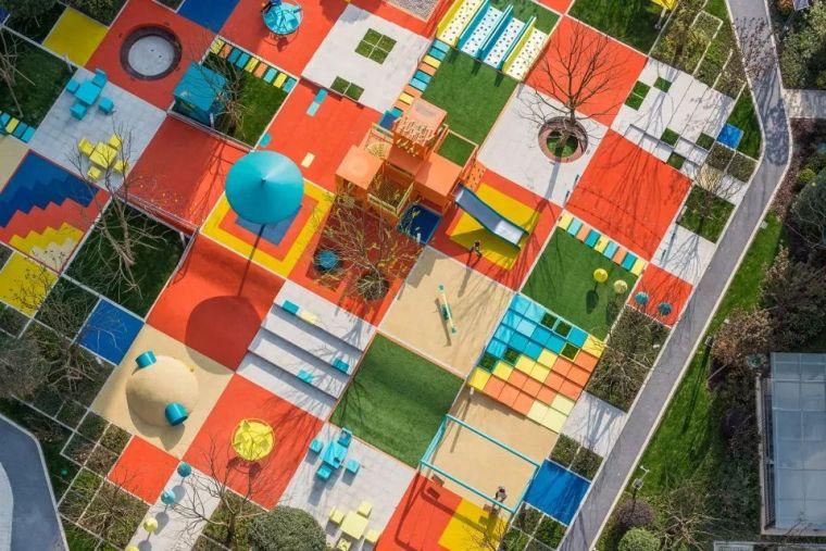 大区里的儿童乐园,谁不想穿越回童年_31