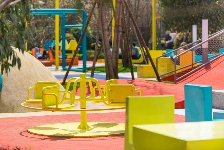 大区里的儿童乐园,谁不想穿越回童年_40
