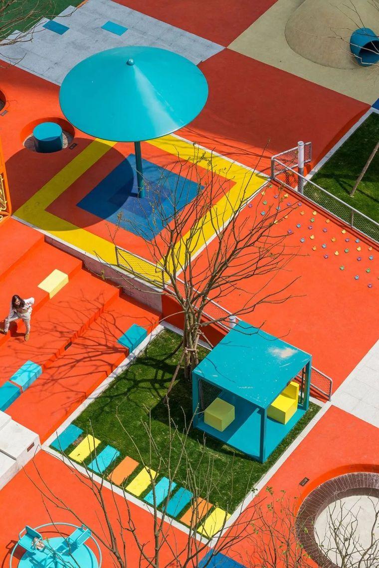 大区里的儿童乐园,谁不想穿越回童年_42