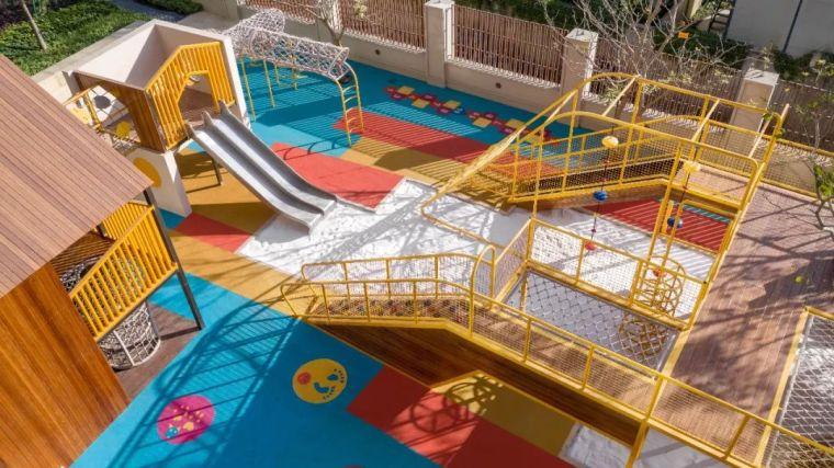 大区里的儿童乐园,谁不想穿越回童年_45