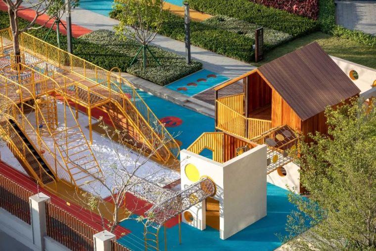 大区里的儿童乐园,谁不想穿越回童年_54