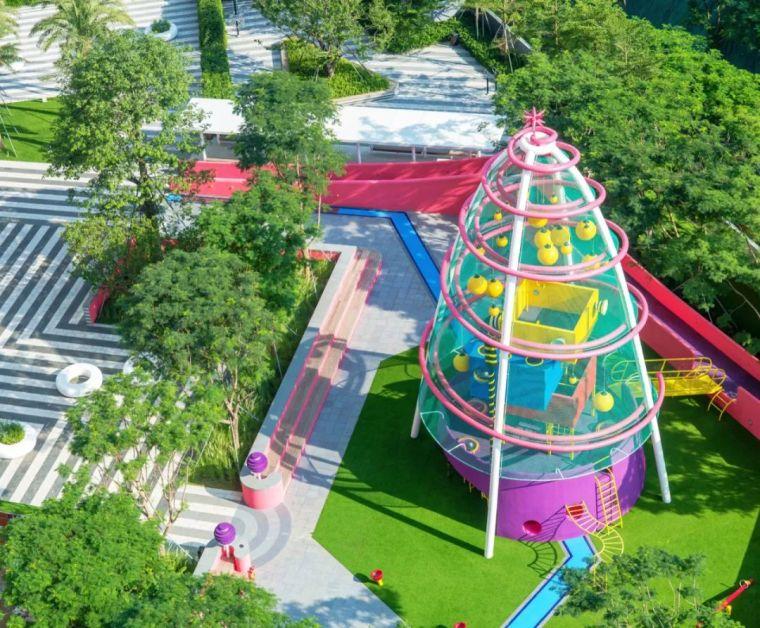 大区里的儿童乐园,谁不想穿越回童年_3