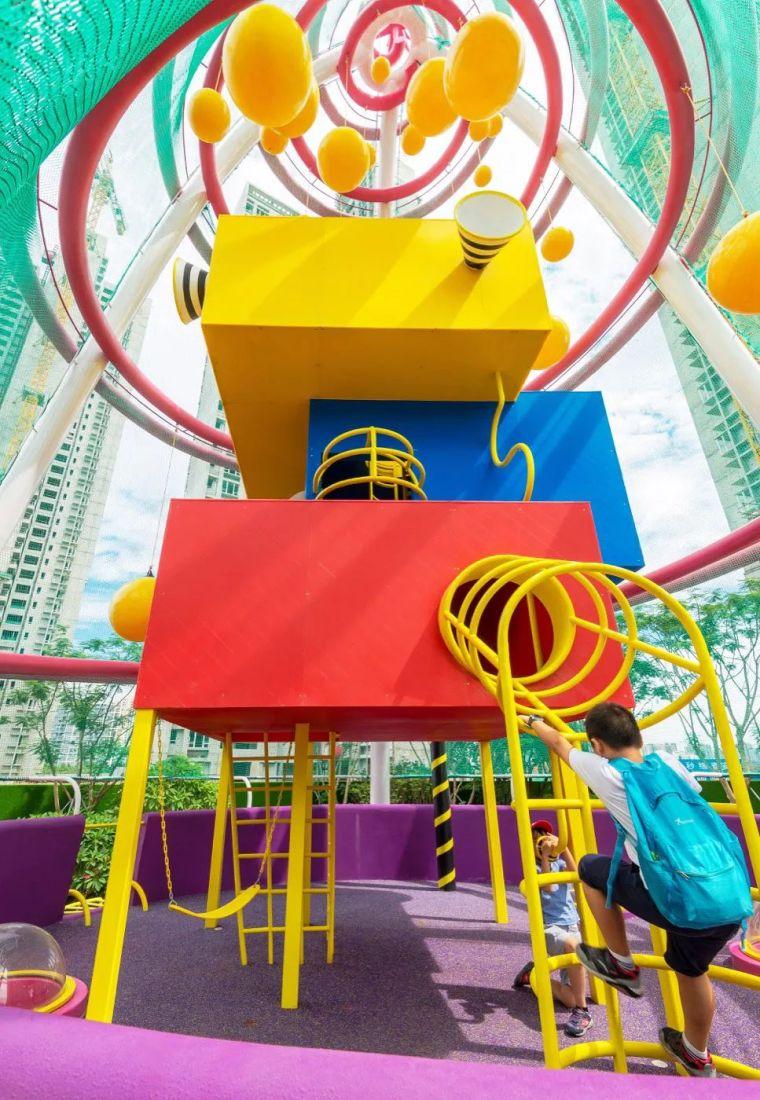 大区里的儿童乐园,谁不想穿越回童年_5