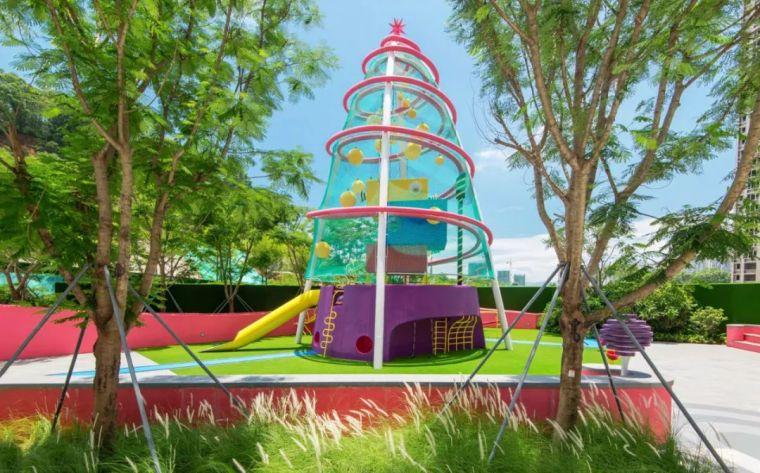 大区里的儿童乐园,谁不想穿越回童年_4