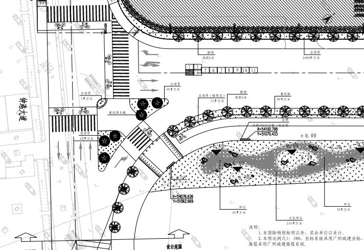 某机场周边配套道路项目施工图景观及地勘_2