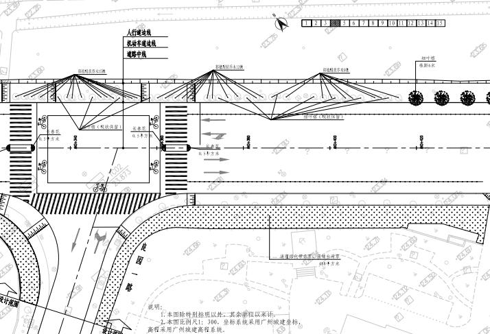 某机场周边配套道路项目施工图景观及地勘_4
