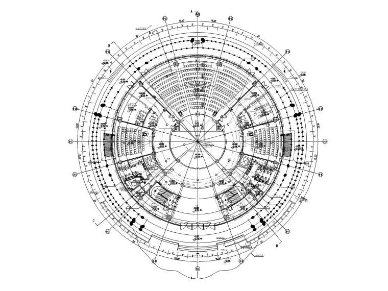 [海南]花瓣造型会议中心电气图纸_含计算书_1