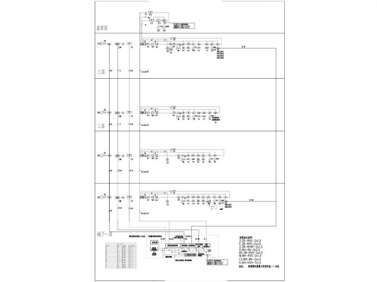 [海南]花瓣造型会议中心电气图纸_含计算书_8