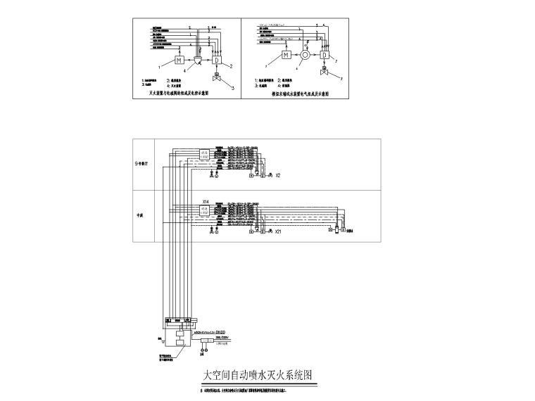 知名大型购物中心电气施工图(强弱电消防)_7