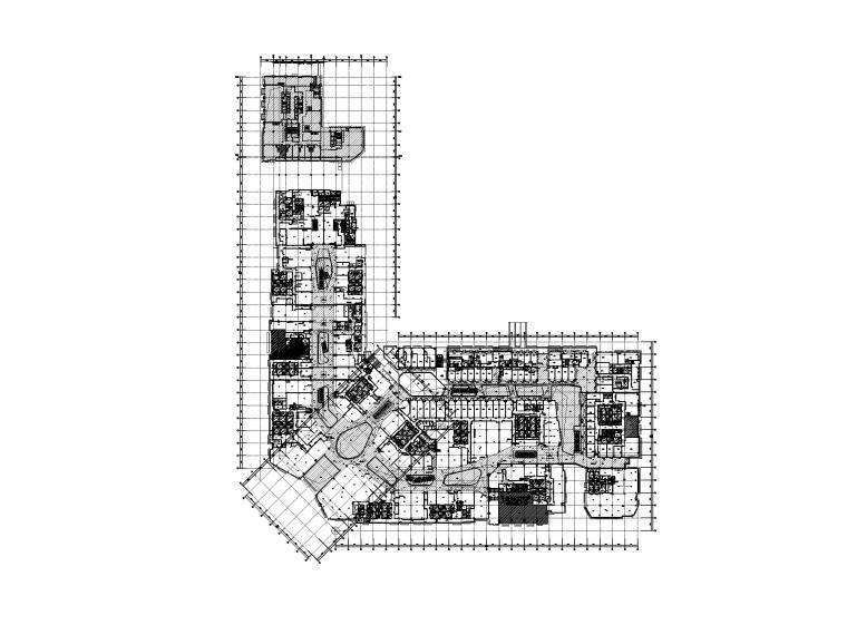 知名大型购物中心电气施工图(强弱电消防)_1