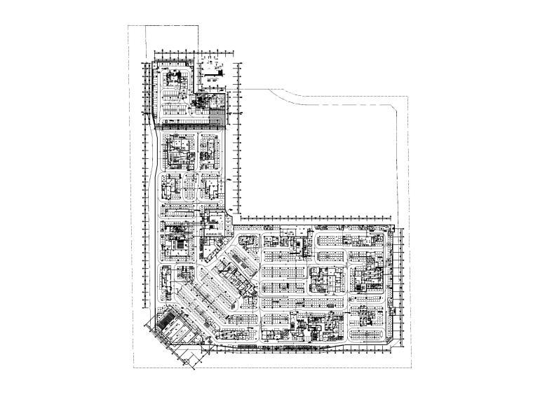 知名大型购物中心电气施工图(强弱电消防)_2