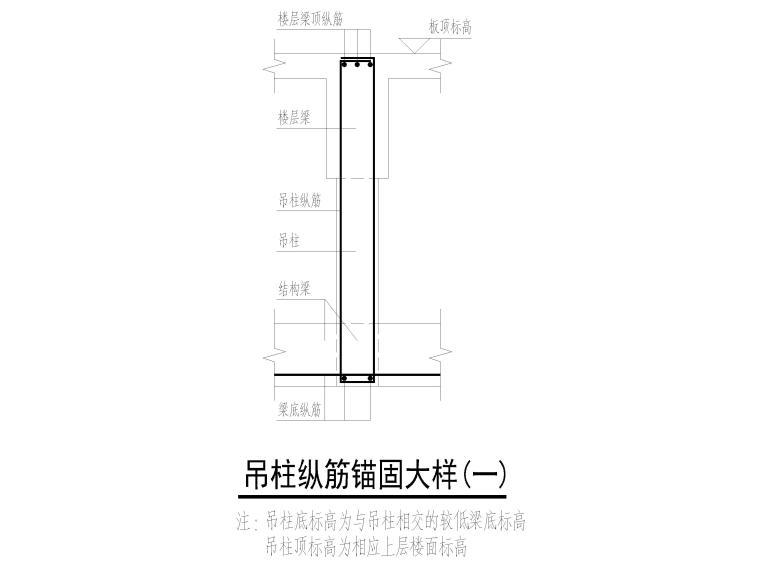 [深圳]7层框架少墙结构医技楼结施图2019_10