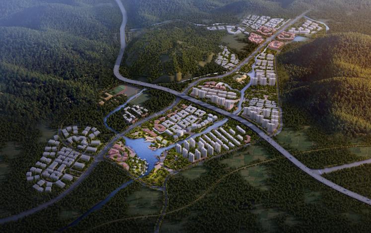 [大连]健康绿带科技度假小镇总体规划2018_1