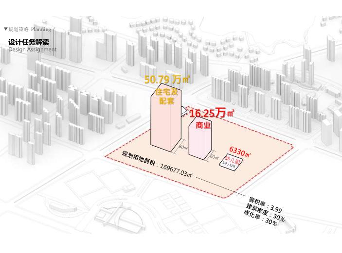 武汉某创塔子湖高层住宅_公寓塔楼方案文本-设计仸务解读