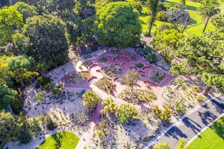 漂亮!维多利亚皇家植物园新干旱花园上线_1