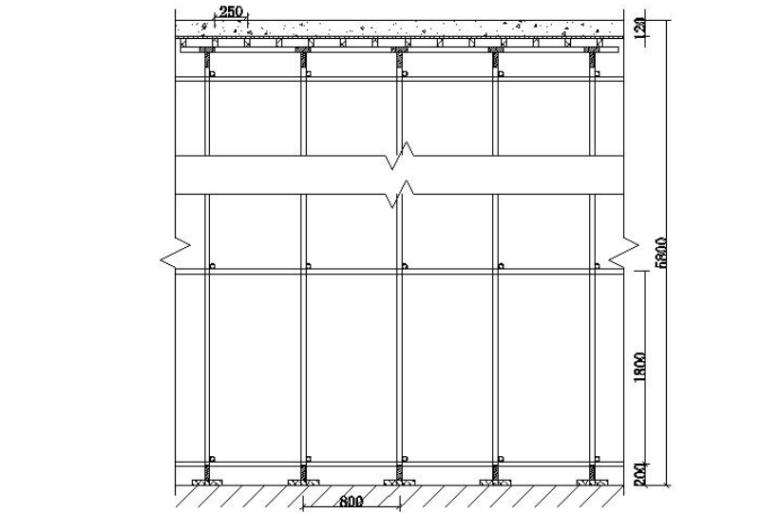 [安徽]高层住宅高悬空梁板模板支撑施工方案_7