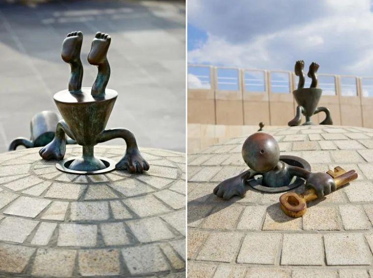 他设计的雕塑受全世界欢迎,却件件引人深思_11