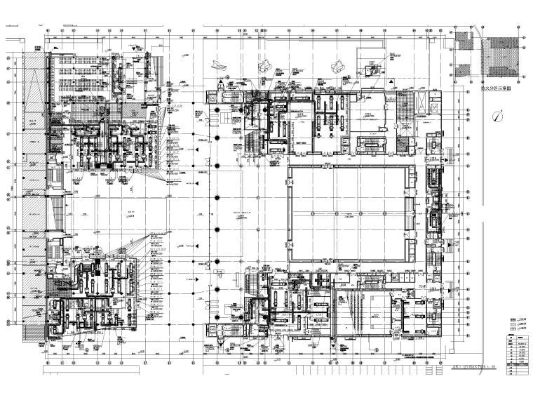 [深圳]6层美术馆空调通风及防排烟设计图纸_1