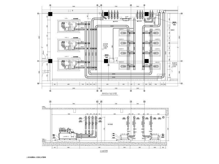 [深圳]6层美术馆空调通风及防排烟设计图纸_10