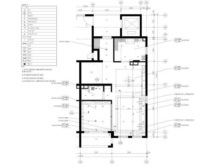 [上海]134㎡现代三居室复式室内装修施工图_3
