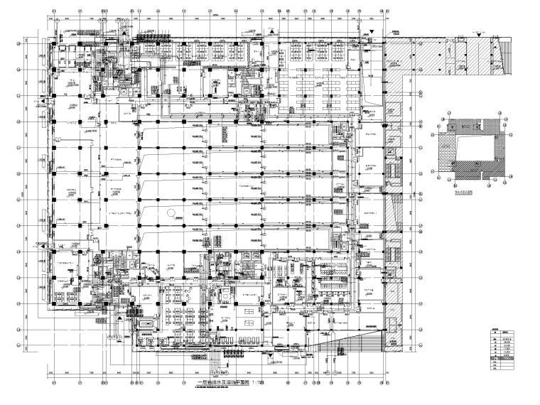 [深圳]图书馆给排水消防系统设计施工图2019_1