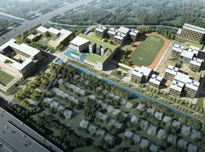 知名地产民办学校规划设计投标方案文本2018_1