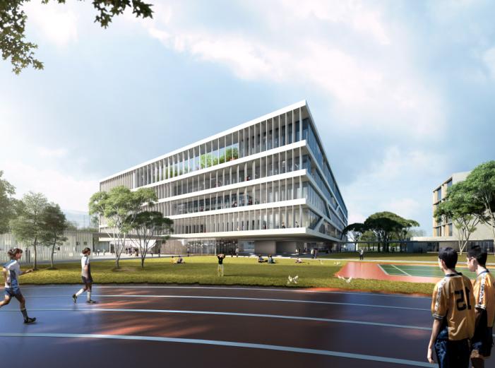 知名地产民办学校规划设计投标方案文本2018_3