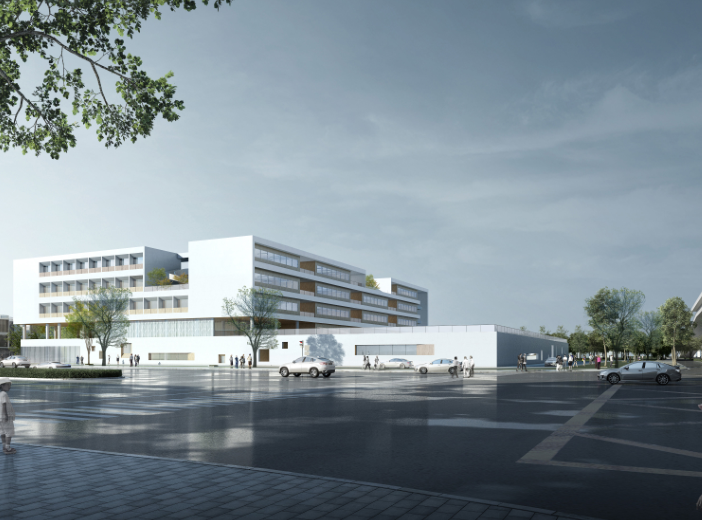 知名地产民办学校规划设计投标方案文本2018_4