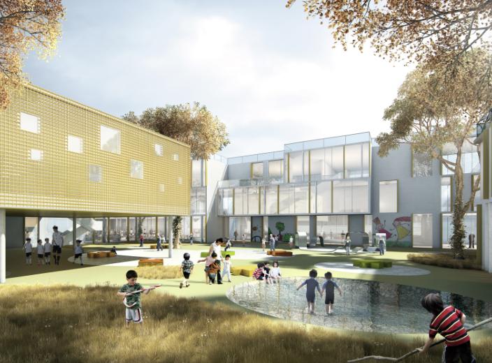 知名地产民办学校规划设计投标方案文本2018_5