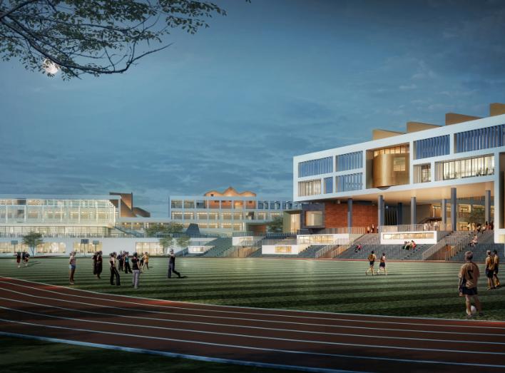 宁波新城核心区学校中小学概念方案设计2018_2