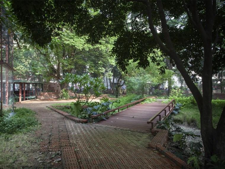 美国达卡大学的公园_1