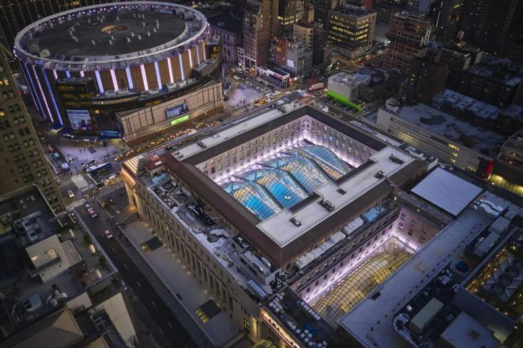 纽约莫伊尼汉车站列车大厅正式投入运营_1