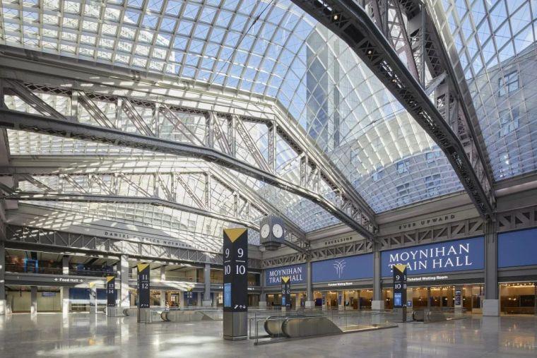 纽约莫伊尼汉车站列车大厅正式投入运营_8