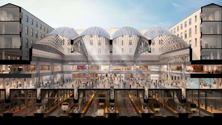 纽约莫伊尼汉车站列车大厅正式投入运营_14