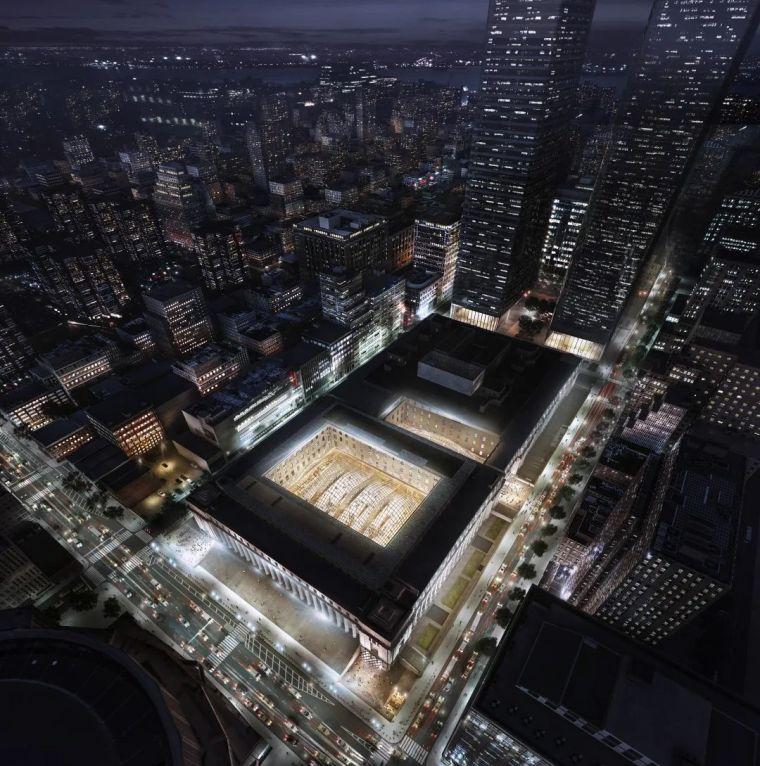 纽约莫伊尼汉车站列车大厅正式投入运营_16