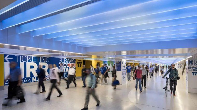 纽约莫伊尼汉车站列车大厅正式投入运营_19