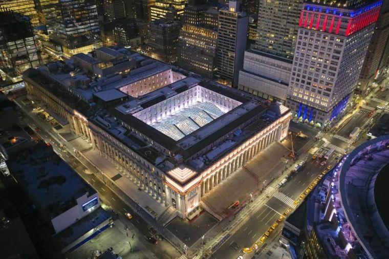 纽约莫伊尼汉车站列车大厅正式投入运营_20