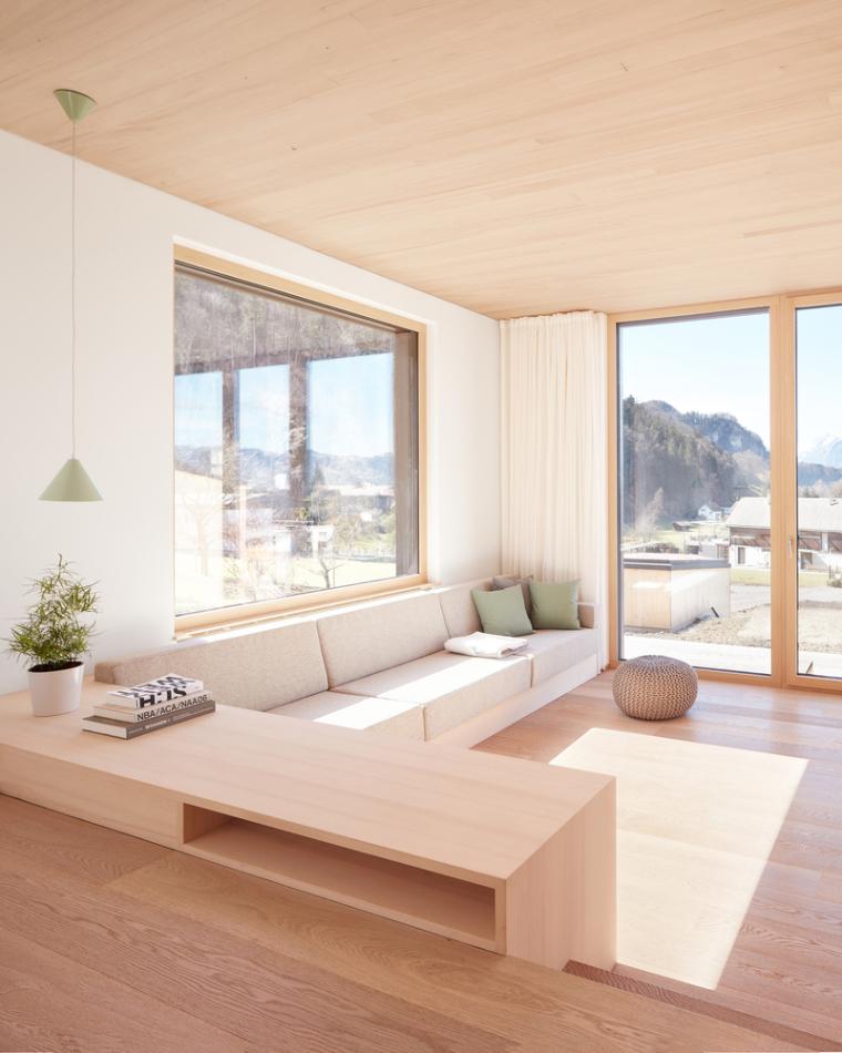 奥地利山坡上的复式住宅_9