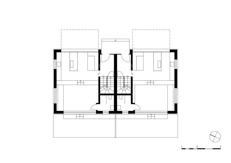 奥地利山坡上的复式住宅_13