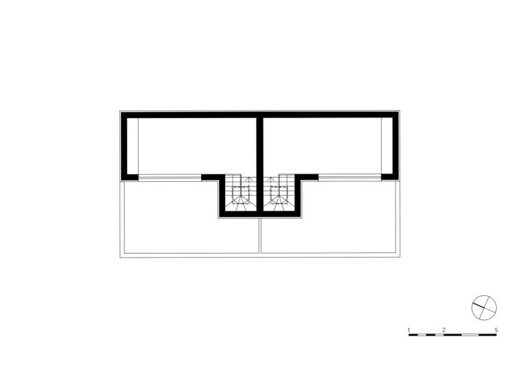 奥地利山坡上的复式住宅_12